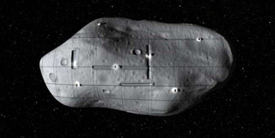 artist's impression of asteroid mining by planetary resources (image: planetary resources, courtesy gizmag)