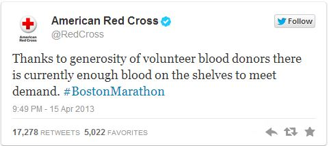 red cross announcement (image: courtesy