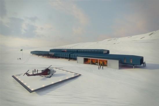 brazilian antarctic base (image: studio 41; courtesy gizmag)