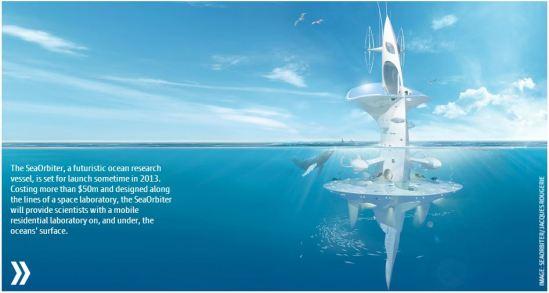 sea orbiter (image: courtesy the guardian)