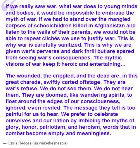 if you saw war